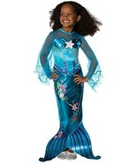 Popular Blue Magical Mermaid Ariel Disney Princess Girl Costume Rubies P... - $22.49