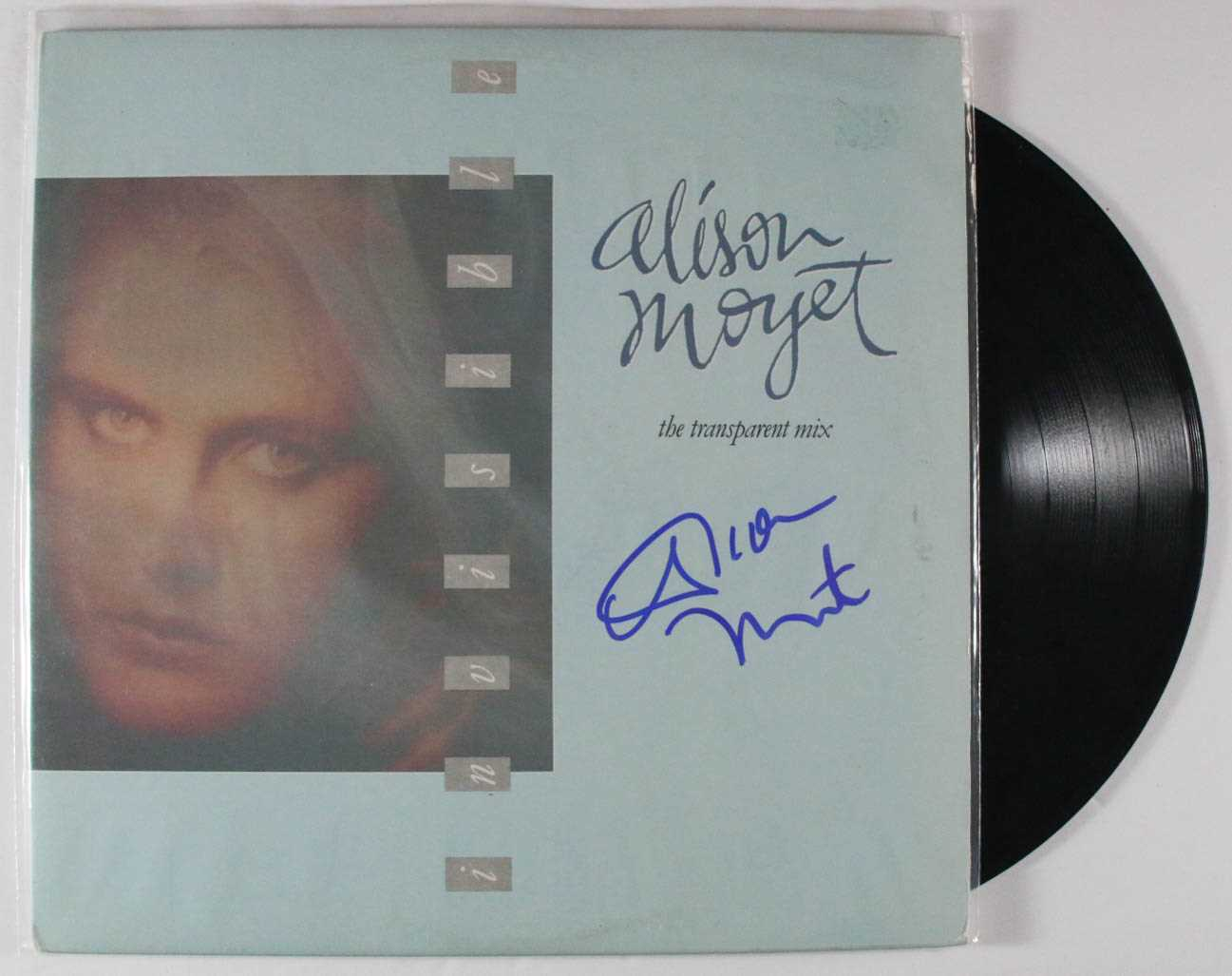 "Primary image for Alison Moyet Signed Autographed ""The Transparent Mix"" Record Album"