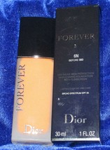 Dior Forever 24h* Wear High Perfection Skin-Caring Matte Foundation-6N - $44.50