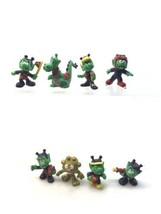 Lot Of 8 1984 Astrosniks Bully Figurines 2.5in PVC Figure Schaper McDona... - $19.79