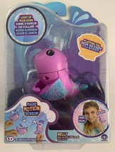 Fingerlings Narwhal Nelly Light Up Mood Horn Purple WowWee NEW - $9.89