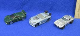 Mattel Car Hot Wheels Corvette & McDonalds Cars C-ZD & TCB Vehicles Lot of 3 - $8.90