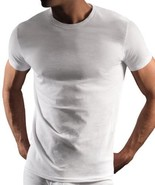 Dkny Men's 3 Pack Classic Premium Cotton Crew Neck Shirt T-Shirt White s... - $18.79