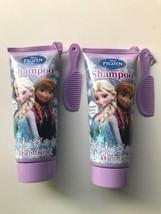 Disney Frozen Shampoo + Mini Comb Winter Berry Scent Lot 2 Elsa Anna 6 o... - $11.97