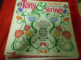 "Great Music LP Record- TONY MOTTOLA  ""Tony & Strings"" - $8.50"