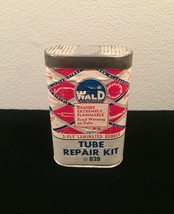 Vintage Wald tube repair kit #828 tin packaging