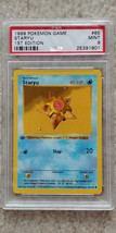 Pokemon Staryu 65/102 1st Edition Base Set PSA 9 1999 TCG Game Shadowless - $31.99