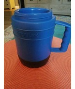 Blue STANLEY thermos, Microwavable, No Spoon - $14.00