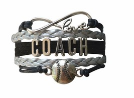 Softball Bracelet, Girls Softball Jewelry - Softball Coaches Gift - $9.99