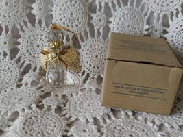 Avon Gift Collection Angelic Reflections Ornament 1995 - $9.69