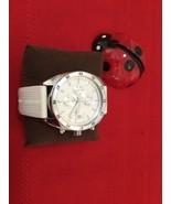 Emporio Armani Men's Sportive Chronograph Quartz White Rubber Strap Watc... - $170.00
