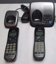 Uniden DECT1480-3 1.9 GHz Two Handsets Single Line Cordless Phone - $25.20