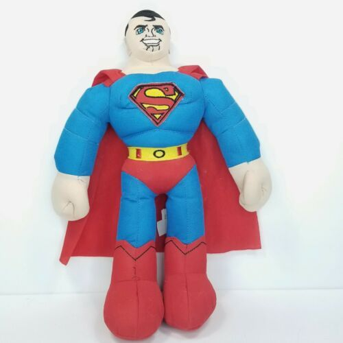 "Primary image for Superman Stuffed Plush DC Super Friends Super Hero Toy 15"" Sugarloaf RARE Large"