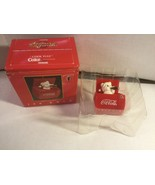 """1993 COCA-COLA ENESCO CHRISTMAS POP-UP ORNAMENT """"NOW YOU SEE IT"""" - $9.45"""