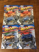 4 New in package 2010-Hot Wheels Puzzle Erasers Cars  - $19.95