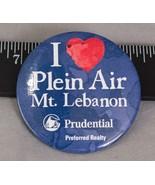I Love Plein Luft Prudential Realty Werbe Pin Pinback Knöpfe Abzeichen (... - $24.30