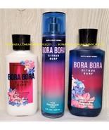 Bora Bora Citrus Surf Bath Body Work Fragrance Mist Body Lotion Shower Gel - $36.00
