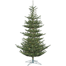 Vickerman 7.5' Alberta Spruce Artificial Christmas Tree with 400 Clear L... - $261.27