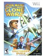 Star Wars The Clone Wars Nintendo Wii - $9.90