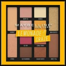 "NEW & SEALED  Maybelline ""Lemonade Craze"" Eye Shadow Palette #100 FREE S... - $7.50"