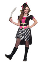 Dreamgirl Pretty Lil' Pirate Child Halloween Costume Girls Size Medium 9577 - $23.26