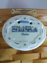 1996 Edition Longaberger Swing Handle Dresden Tour Basket w/ Plastic Liner image 5
