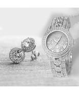 Geneva Luxury Mens Women Watches Stainless Steel Band Analog Quartz Wris... - $12.99