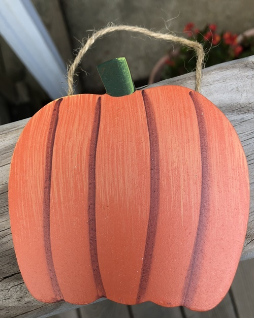 Primary image for Fall Wood CH27 - Pumpkin hangs by jute
