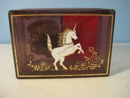 """Unicorn Musical Jewelry Box """"It's a Small World"""" Music Yap's Plastic - $6.84"""