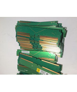 1.85 lbs Gold Scrap Continuity RIMM Blank Memory Crimm Modules for Recov... - $34.65