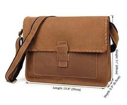 Sale, Vintage Messenger Bag, Leather Messenger Bag, Men's Fossil Messenger Bag image 1