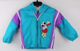 Vintage toddler Kids Climate control by Fashion hoodie zip jacket size 1... - $15.78