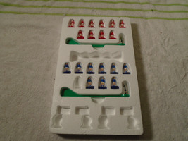 21 Vintage Subbuteo table Soccer red blue team men - $39.99