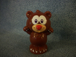 "Leapfrog VTech Brown Bear Plastic Figure Developmental Toy 3"" - $1.17"