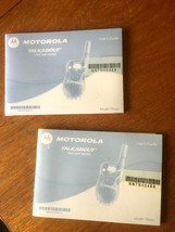 2 Motorola Talkabout T6400 Two Way Radio User Guide Manuals Model T6250 - $5.43