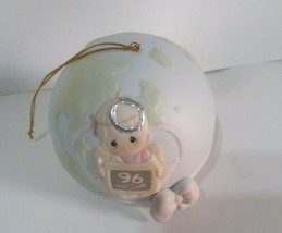 """Precious Moments """"Peace On Earth..Anyway"""" Porcelain Ornament 1996 ANNUAL... - $16.99"""