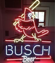"New Busch Beer St Louis Cardinals MLB Neon Sign 20""x16"" - $123.00"