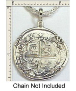 Atocha 2 Reale Pirate Shipwreck Coin 1622 Mel Fisher Find Off Key West F... - $56.10