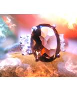 Haunted ring WONDERFUL YEAR AHEAD DJINN VESSEL MAGICK 925 SMOKY QUARTZ W... - $333.77