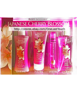 BODY FANTASIES* 4pc Body Care Set JAPANESE CHERRY BLOSSOM Wash+Cream+Spr... - $19.99