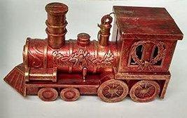 "Red Steam Locomotive Ornament 4.5"" Long - $12.50"