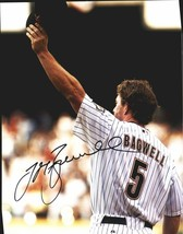 Jeff Bagwell authentic signed baseball 11X14 photo W/Cert Autographed A0001 - $109.95