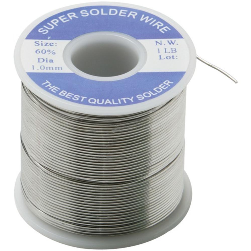 Steren 400-155 1lb 60/40 Solder Spool