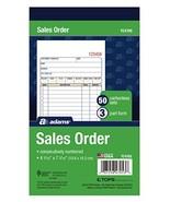 "Adams Sales Order Book, 3-Part, Carbonless, 4-3/16"" X 7-3/16"" Inch, 50 S... - $6.58"