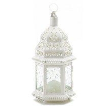 Moroccan Lanterns Decorative, Rustic Lantern Moroccan Decorative Candle ... - $21.99