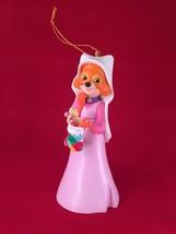 Maid Marian Disney Grolier Christmas Magic Ornament 158  Robin Hood  Fox... - $54.44