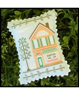 Coffee Shop #4 Main Street Station cross stitch chart Country Cottage Ne... - $5.40