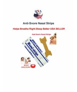 LARGE Anti Snore Nasal Strips Helps to Sleep Right and Breathe Right-USA... - $4.95+