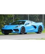 2020 Corvette Stingray Rapid Blue   24X36 inch poster  sports car, garag... - $19.79