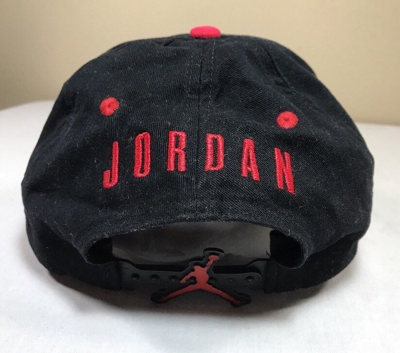 cc015276ec9e4 VTG Nike Hat Air Jordan Snapback Cap 90 s Flight OG Bulls Michael Men Bulls